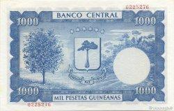1000 Pesetas Guineanas GUINÉE ÉQUATORIALE  1969 P.03 NEUF