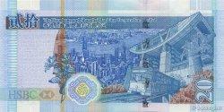 20 Dollars HONG KONG  2003 P.207a NEUF