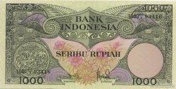 1000 Rupiah INDONÉSIE  1959 P.071b pr.NEUF