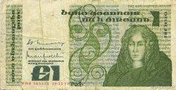 1 Pound IRLANDE  1977 P.070a TB+