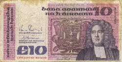 10 Pounds IRLANDE  1988 P.072c TB