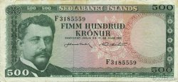 100 Kronur ISLANDE  1961 P.45a TTB