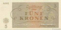 5 Kronen ISRAËL  1943 WW II.703 NEUF