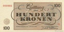 100 Kronen ISRAËL  1943 WW II.707 NEUF