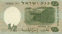 1/2 Lira ISRAËL  1958 P.29a SUP
