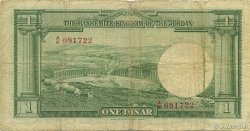 1 Dinar JORDANIE  1949 P.02b pr.TB