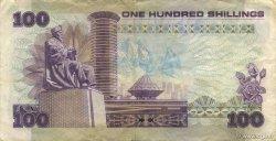100 Shillings KENYA  1981 P.23b TTB