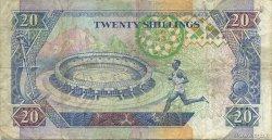 20 Shillings KENYA  1993 P.31a TTB