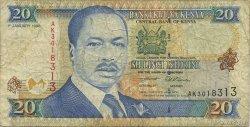20 Shillings KENYA  1996 P.35a TB