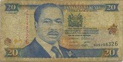 20 Shillings KENYA  1997 P.35b B
