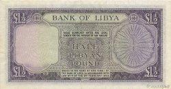 1/2 Pound LIBYE  1963 P.24 TTB+