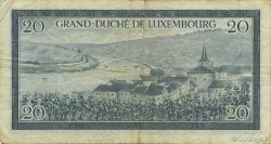 20 Francs LUXEMBOURG  1955 P.49a pr.TB