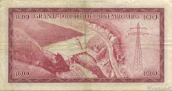 100 Francs LUXEMBOURG  1963 P.52a TTB