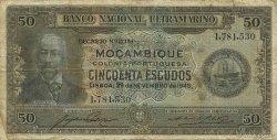 50 Escudos MOZAMBIQUE  1945 P.096A pr.TB