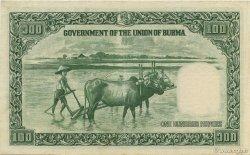 100 Rupees BIRMANIE  1948 P.37 SUP