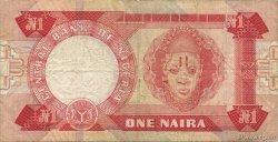 1 Naira NIGERIA  1979 P.19a TB+