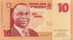 10 Naira NIGERIA  2006 P.33a NEUF