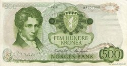 500 Kroner NORVÈGE  1978 P.39a MBC a EBC