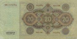 20 Gulden PAYS-BAS  1930 P.044 TTB