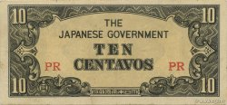 10 Centavos PHILIPPINES  1942 P.104a SPL