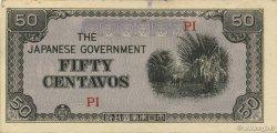 50 Centavos PHILIPPINES  1942 P.105b SUP+
