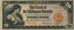 20 Pesos PHILIPPINES  1920 P.015 pr.SUP