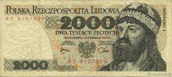 2000 Zlotych POLOGNE  1979 P.147b TB à TTB