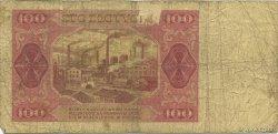 100 Zlotych POLOGNE  1948 P.139a B
