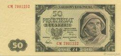 50 Zlotych POLOGNE  1949 P.138 SUP