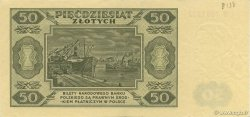 50 Zlotych  POLOGNE  1948 P.138 SUP