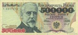 500000 Zlotych POLOGNE  1993 P.161a TTB