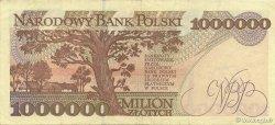 1000000 Zlotych POLOGNE  1993 P.162a SUP