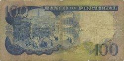 100 Escudos PORTUGAL  1965 P.169a B+