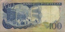 100 Escudos PORTUGAL  1965 P.169a TB