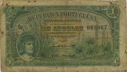 1 Angolar ANGOLA  1926 P.064 TB