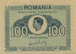 100 Lei ROUMANIE  1945 P.078 SUP