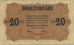 20 Lei ROUMANIE  1917 P.M06 TB