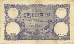 20 Lei ROUMANIE  1914 P.020 TB à TTB