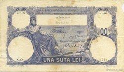 100 Lei ROUMANIE  1917 P.021 TB+