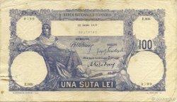 100 Lei ROUMANIE  1917 P.021 TTB