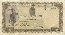 500 Lei ROUMANIE  1941 P.051 TTB+