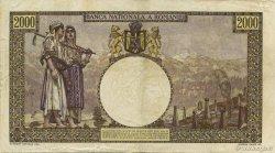 2000 Lei ROUMANIE  1941 P.053a TTB