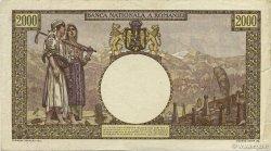 2000 Lei ROUMANIE  1941 P.053a TTB+