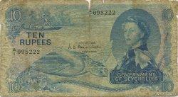 10 Rupees SEYCHELLES  1968 P.15a B