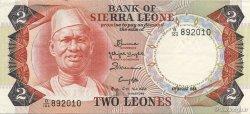 2 Leones SIERRA LEONE  1984 P.06g TTB à SUP