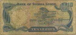 10 Leones SIERRA LEONE  1980 P.13 B+