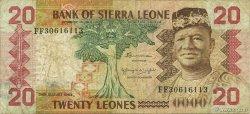 20 Leones SIERRA LEONE  1984 P.14b TB