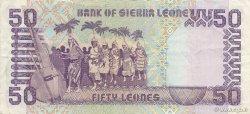 50 Leones SIERRA LEONE  1988 P.17a TTB+