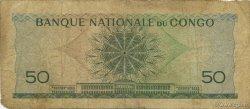 50 Francs CONGO  1962 P.05a pr.TB