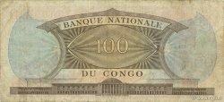 100 Francs CONGO (RÉPUBLIQUE)  1962 P.006a TB+